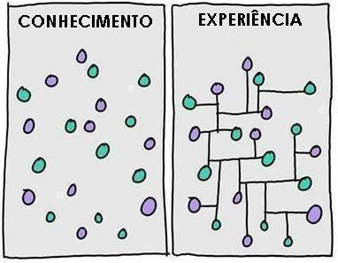Conhecimento com experiência:competência