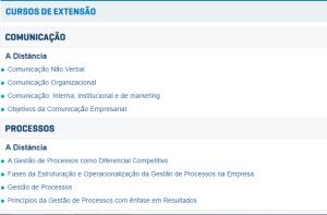 Até 30.04.15 Conteúdo gratuito nos Cursos de extensão (a cobrança somente para quem quiser certificação) :http://portal.uninter.com/extensao/
